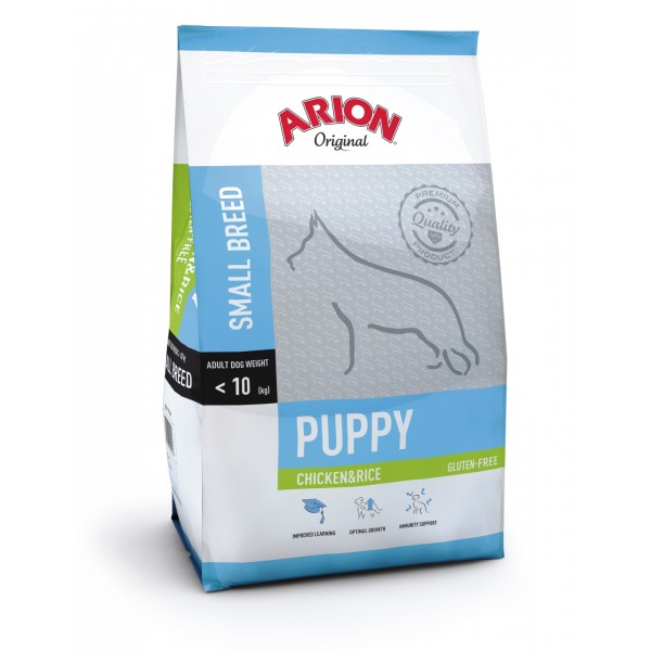 Arion Original Puppy Small Breed cu Pui si Orez 3Kg