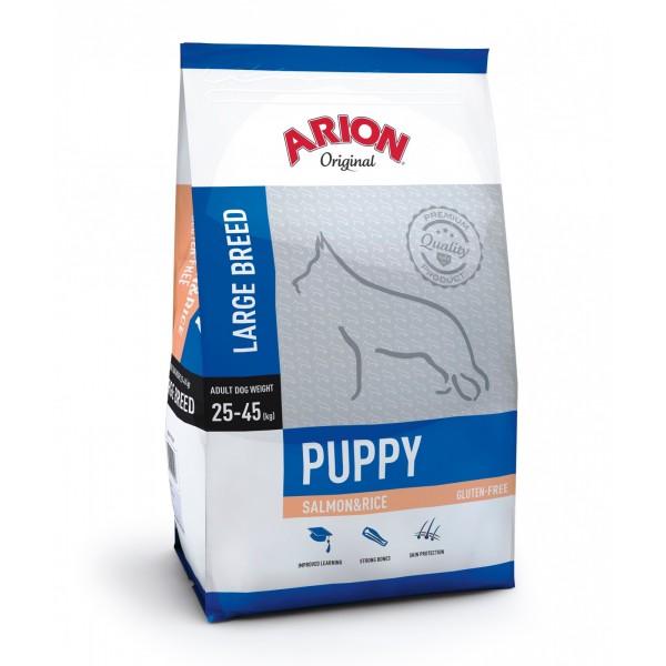 Arion Original Puppy Large Breed cu Somon si Orez 3Kg