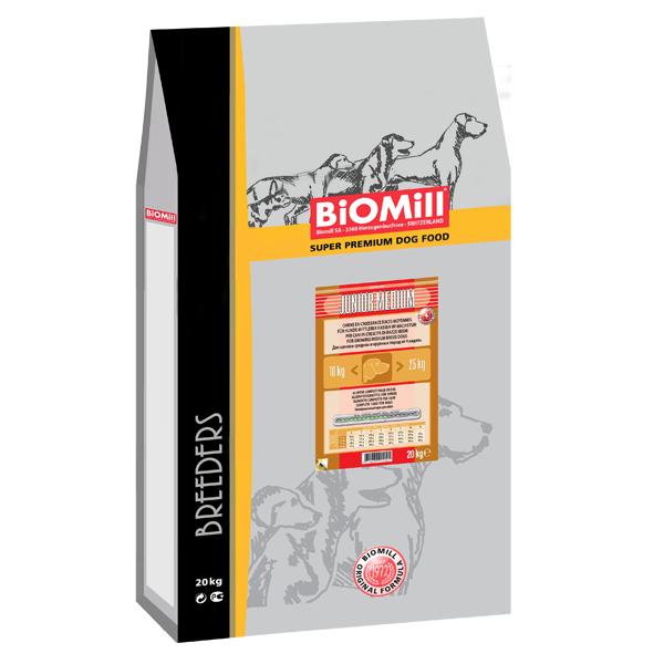 Biomill Breeders Dog Junior Medium 20 kg