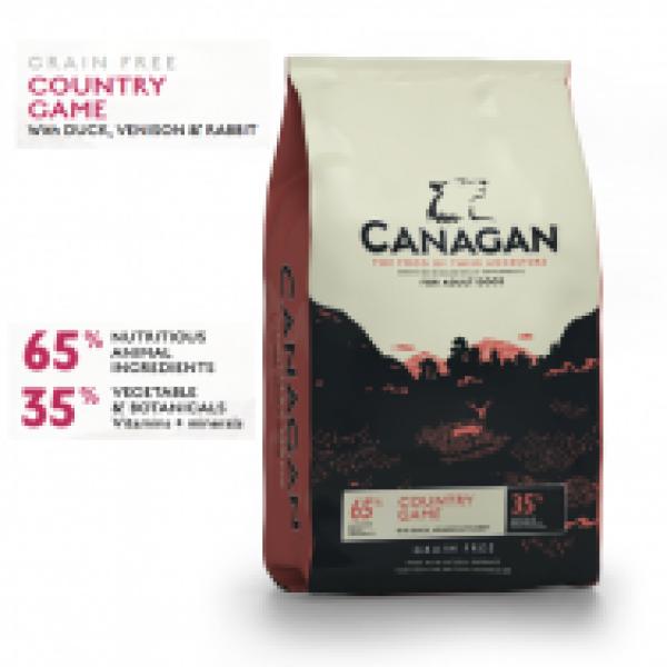 Canagan Grain Free cu Vanat 12 kg