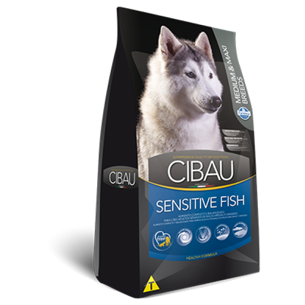 Cibau Sensitive Fish Medium-Maxi 12 kg