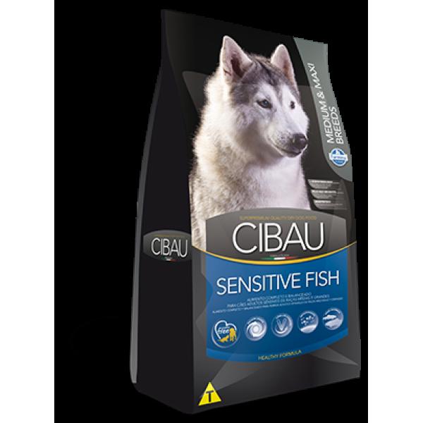Cibau Sensitive Fish Medium-Maxi 12 kg