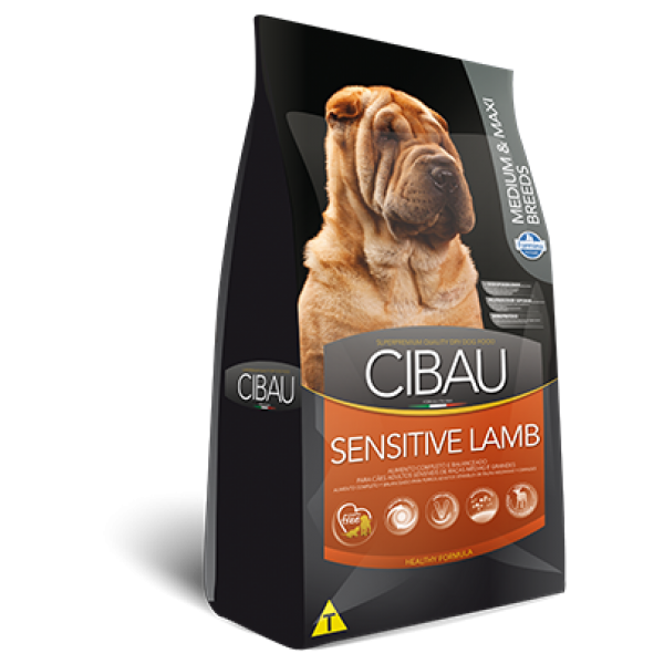Cibau Sensitive Lamb Medium-Maxi 12 kg