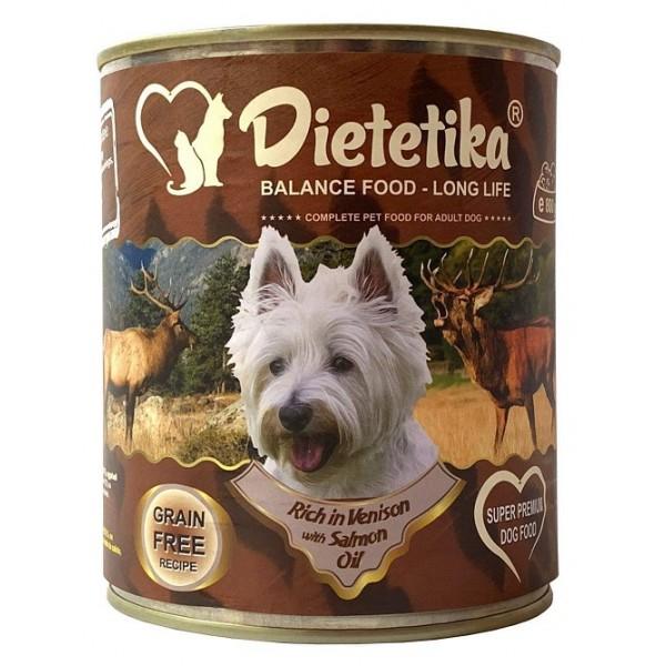 Promo 5 + 1 Hrana umeda pentru caini, Dietetika Vanat, 400 gr