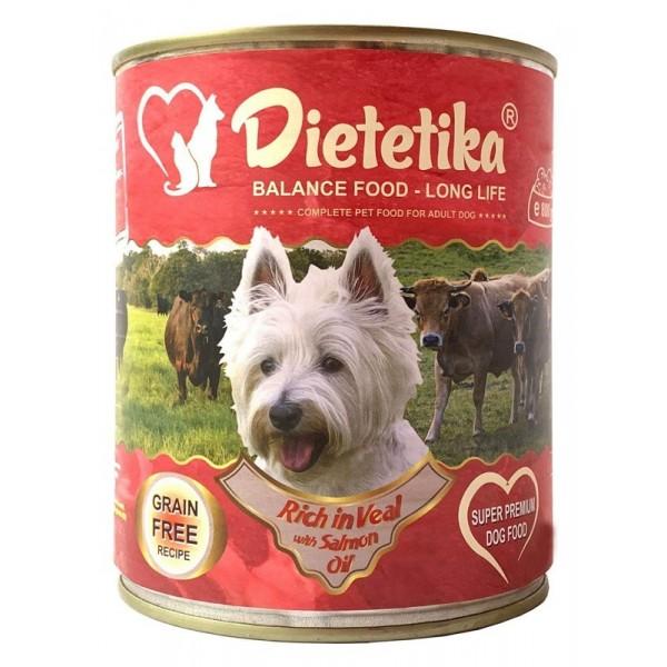 Promo 5 + 1 Hrana umeda pentru caini, Dietetika Vitel, 400 gr