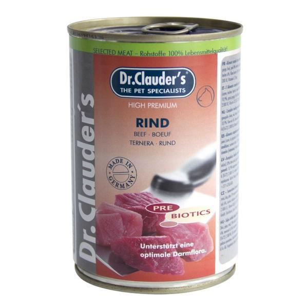 Conserva Dr. Clauder`s Dog Selected meat - Vita - 400gr