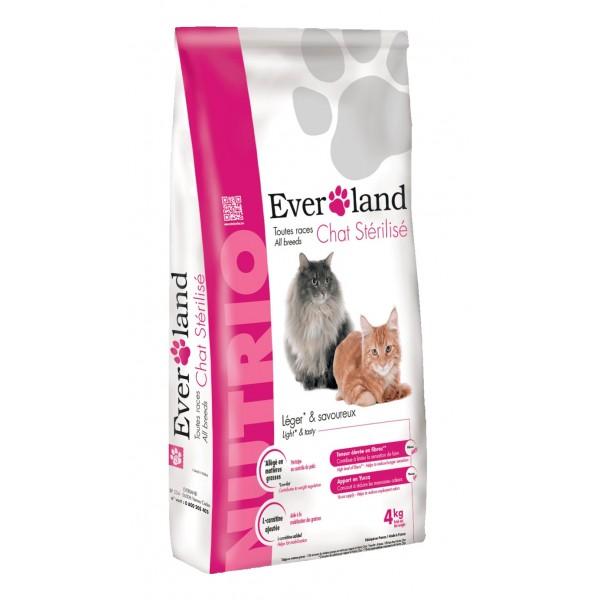 Hrana uscata pentru pisici, Everland Nutrio Cat Sterilised, 4 kg