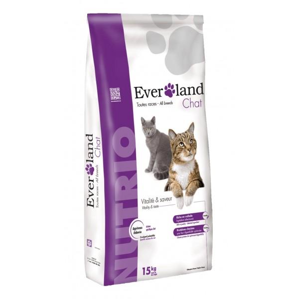 Hrana uscata pentru pisici, Everland Nutrio Cat, toate taliile, 15 kg
