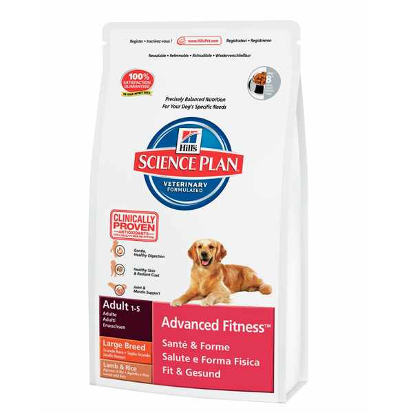 Hills SP Canine Adult Large Breed Lamb&Rice 12 kg