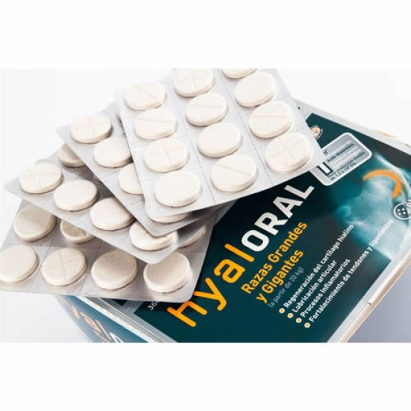 Hyaloral Large Breed 12 tablete