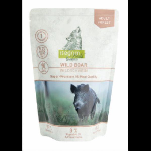 Plic Isegrim Dog Adult Monoproteic Mistret, 410 g