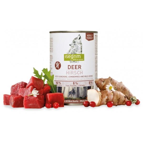 Conserva Isegrim Dog Adult - Caprioara 400 Gr