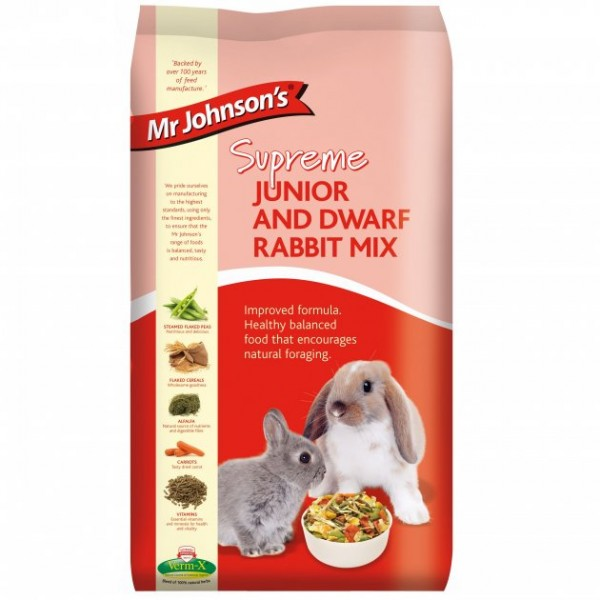 Mr Johnson's Supreme IEPURI JUNIORI & IEPURI PITICI MIX 900gr