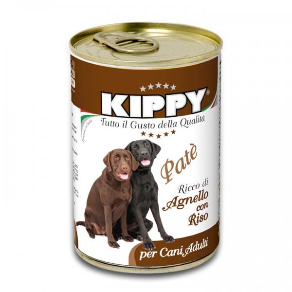 Pate Kippy dog, cu miel si orez, 400g