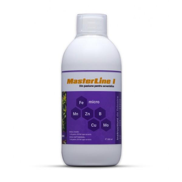Fertilizant cu micronutrienti pentru plante acvatice MasterLine I, 1000 ml