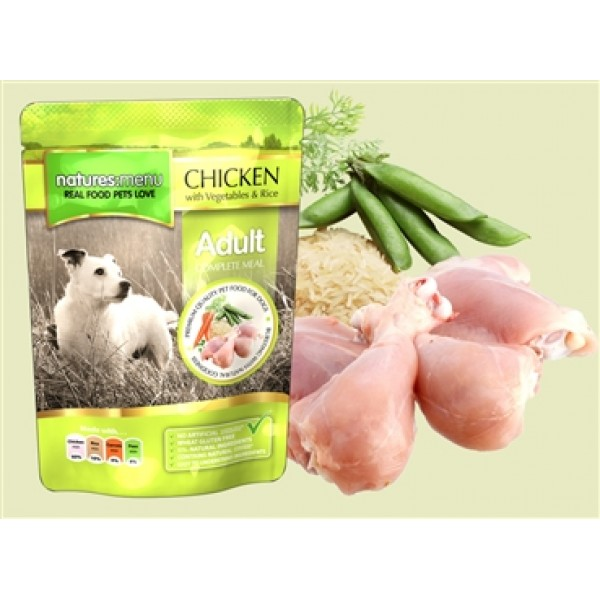 Natures Menu Dog Adult Chicken 300 gr.
