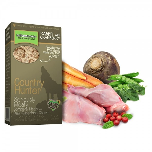 Country Hunter Iepure si Merisoare  700 gr