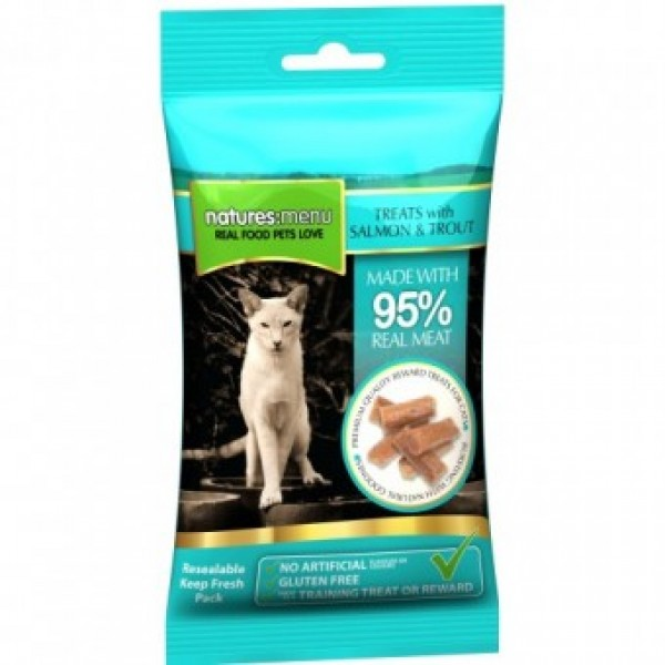 Natures Menu Cat Somon si Ton 60 gr