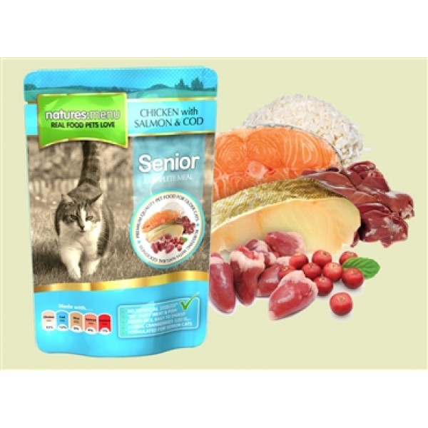 Natures Menu Cat Senior 100 gr
