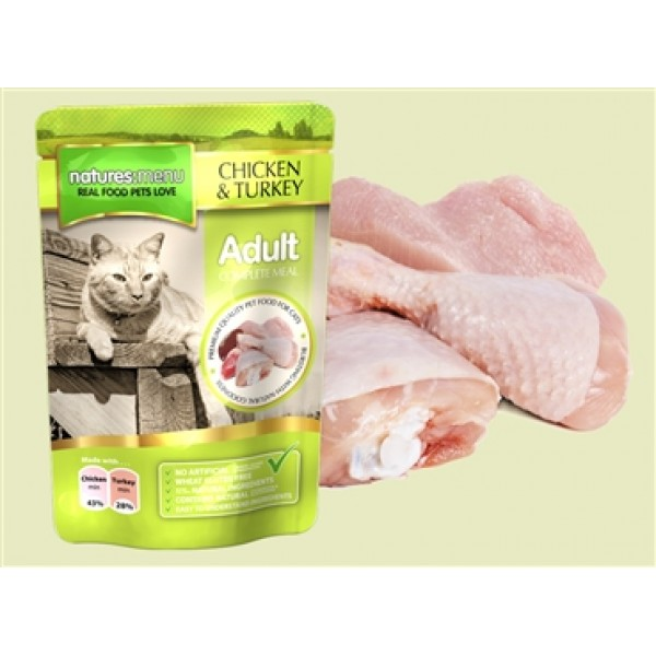 Natures Menu Cat Chicken/Turkey 100 gr
