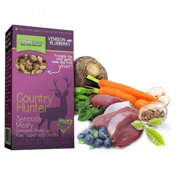 Country Hunter Vanat si Afine 700 gr