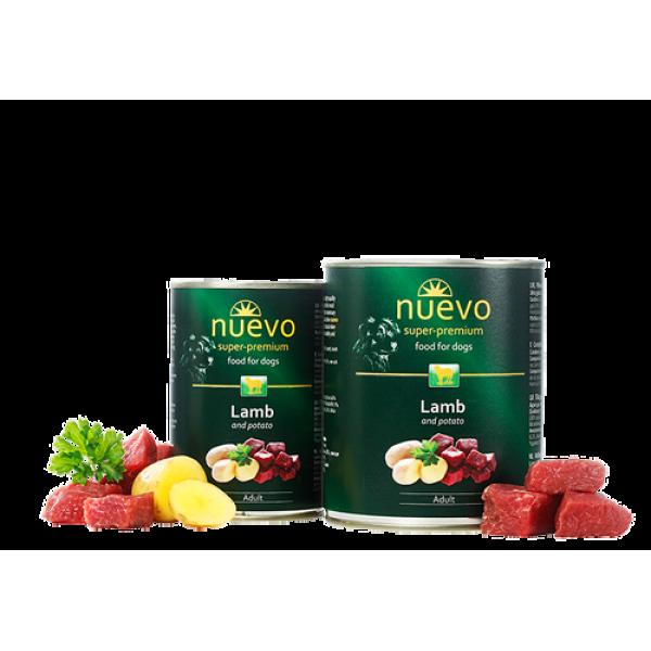 Conserva Nuevo Dog Adult Miel si Cartof 400 gr