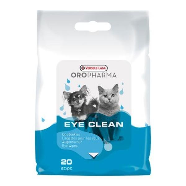 Servetele umede pentru ochi Oropharma, caini si pisici 20 buc