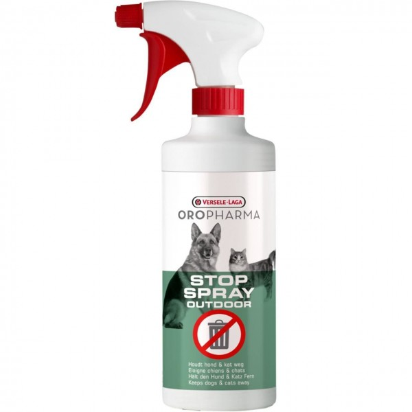 Spray repelent pentru caini si pisici, Oropharma Stop Outdoor, 500ml
