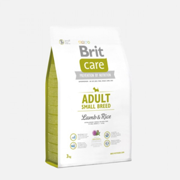 Brit Care Adult Small Breed Lamb and Rice 3 kg