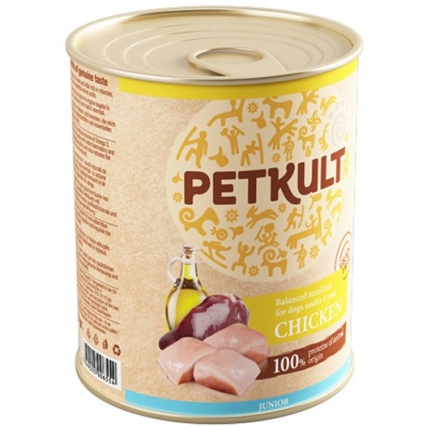 Petkult Junior Pui 800 gr