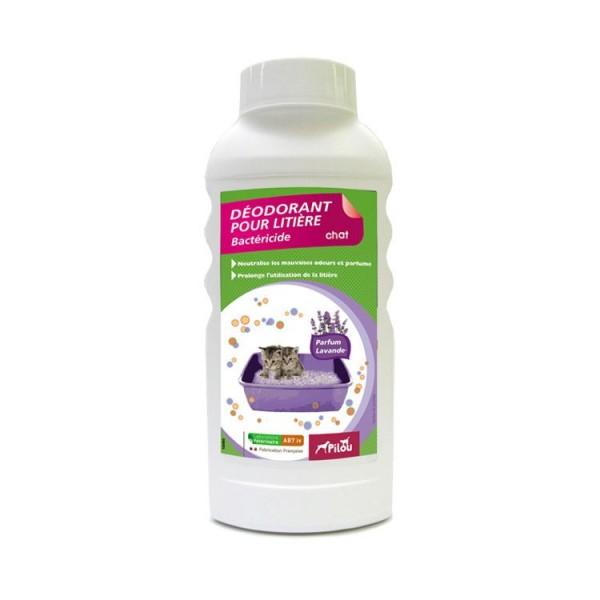 Deodorant pentru litiera Pilou, Lavanda, 750g