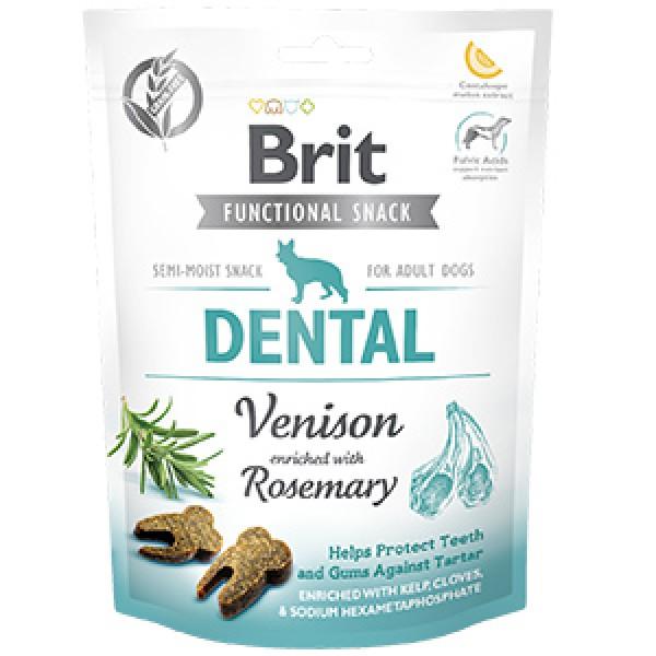 Brit Care Dog Snack Dental Venison 150 g