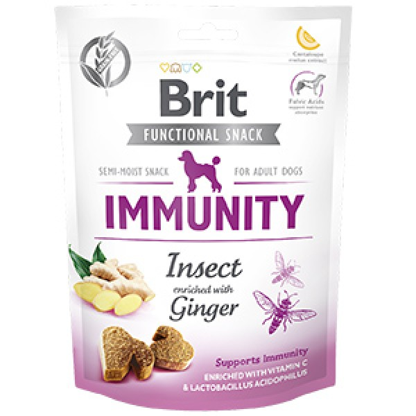 Brit Care Dog Snack Immunity Insect 150 g