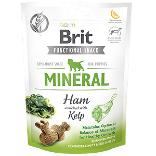 Brit Care Dog Snack Mineral Ham for Puppies 150 g