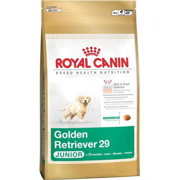 2 X Royal Canin Golden Retriever Junior 12 kg