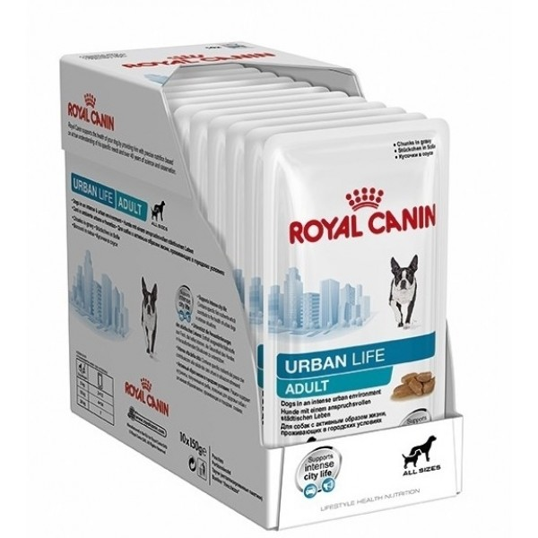 Royal Canin Urban Life Adult Dog 10x150gr