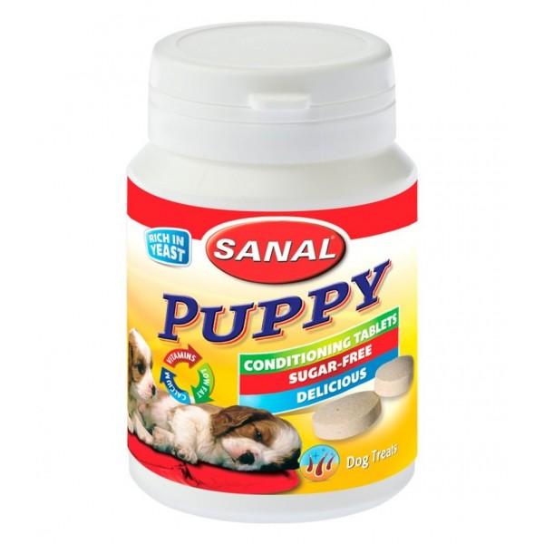 Supliment nutritiv pentru catei, Sanal Dog Puppy 75 g