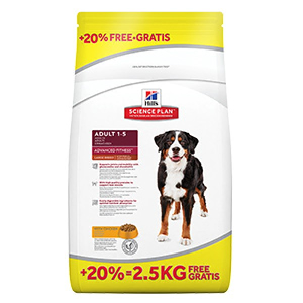 Hills SP Canine Adult Advanced Fitness Large Breed Chicken 14.5 kg