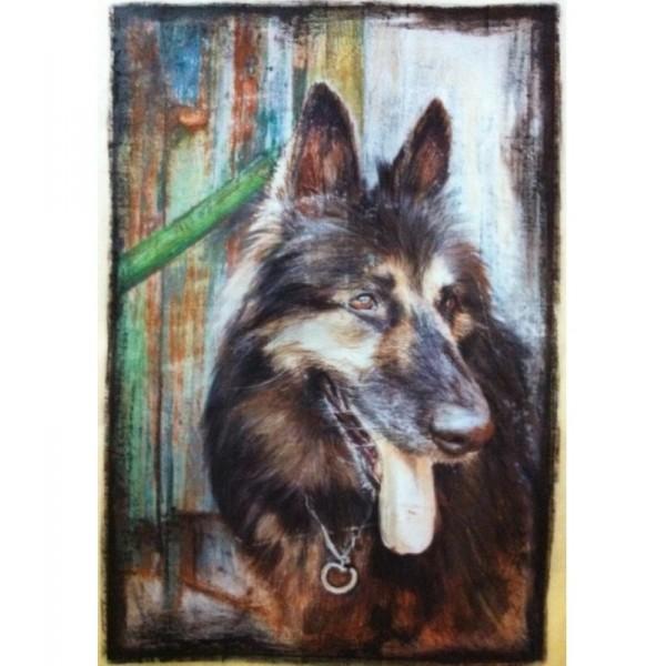 Desen artistic cu animalul tau 50 x 60