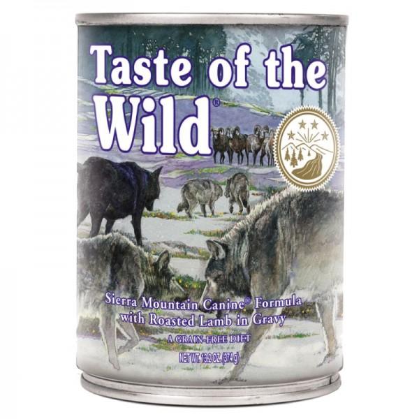 Conserva Taste Of The Wild Sierra Mountain 390 gr.