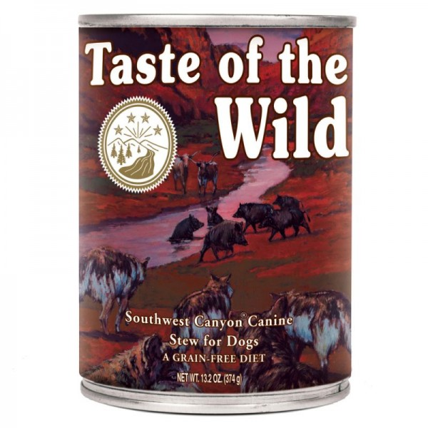 Conserva Taste Of The Wild Southwest Canyon 390 gr.