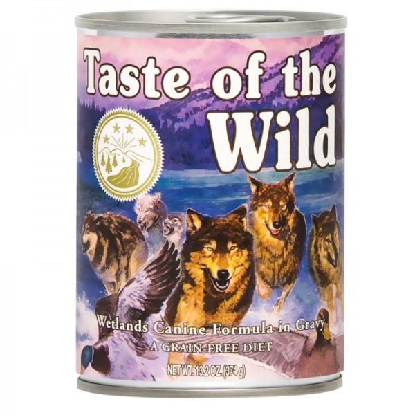 Conserva Taste Of The Wild Wetlands 390 gr.