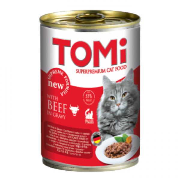 Conserva pentru pisici, Tomi cu Vita, 400 g