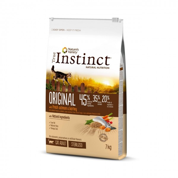 True Instinct Cat Original Sterilizat Somon, 1.25 kg