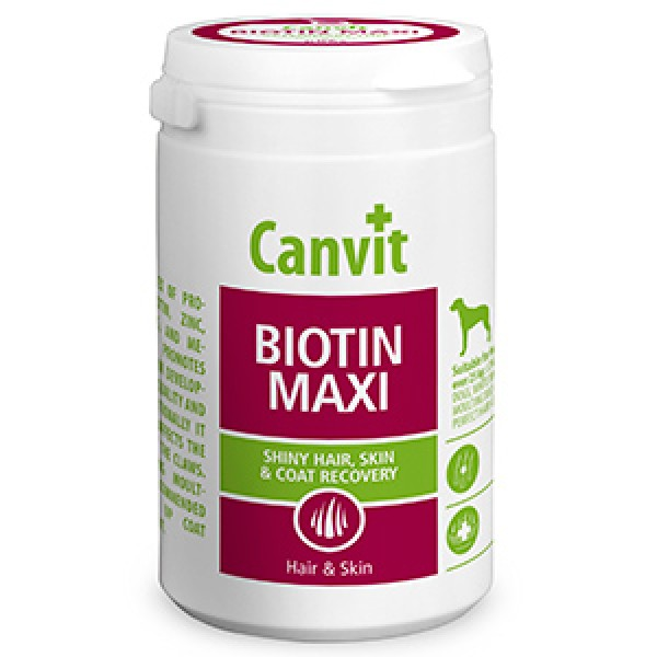 Canvit Biotin Maxi for Dogs 230g