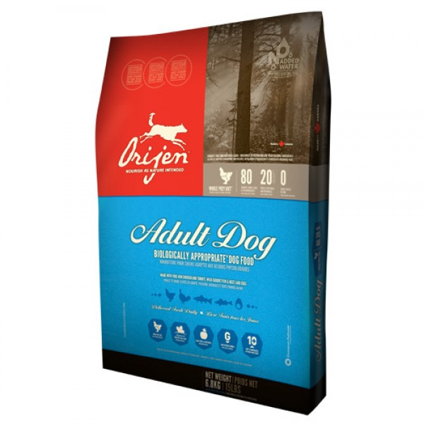 Orijen Dog Adult 11.4 kg + recompense Tail Swingers 100 g
