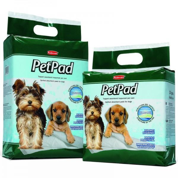 Covorase absorbante Padovan Pet Pad, 60x60 cm, 10 buc